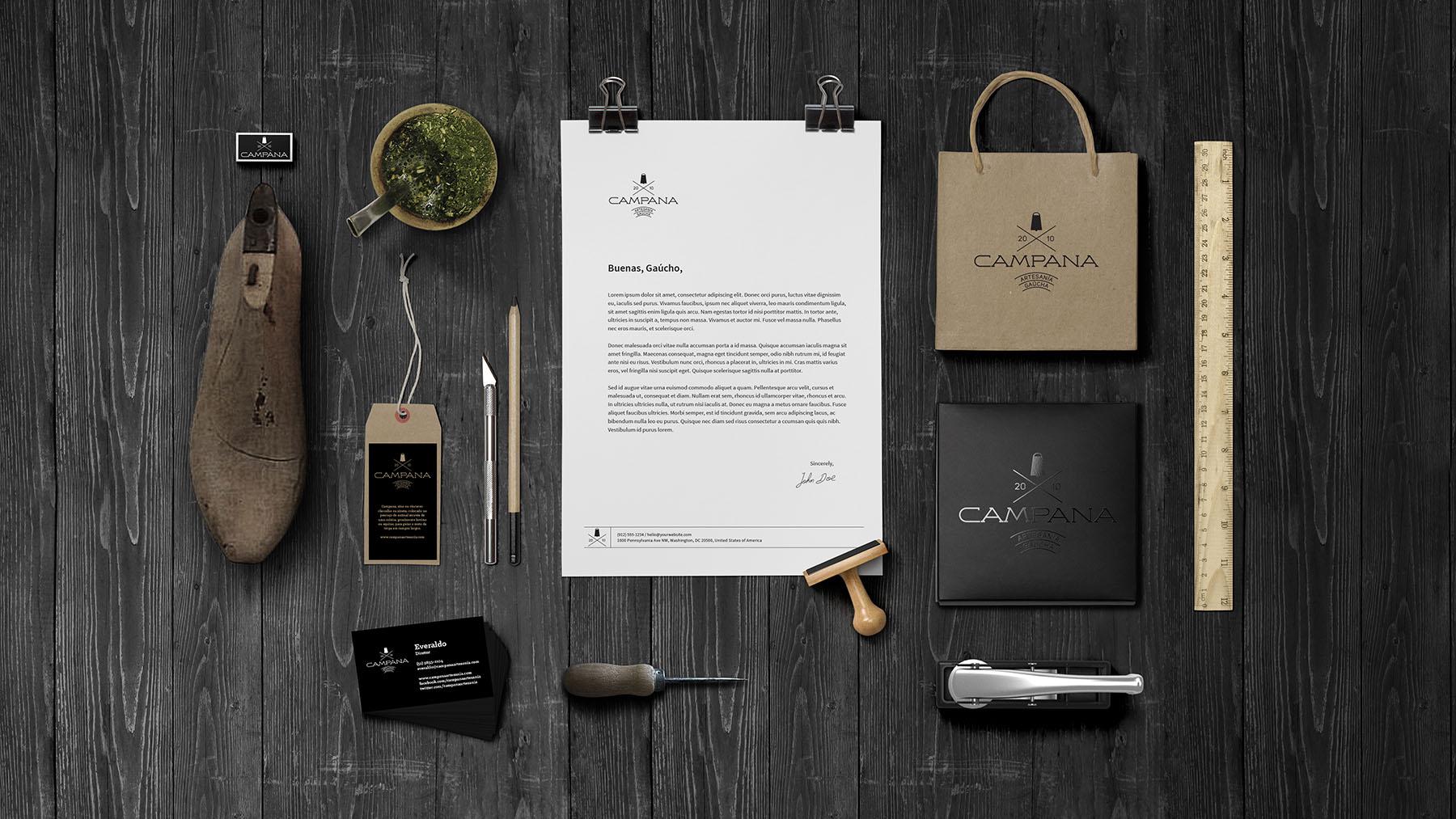 Criação de logo Campana - Campo Bom