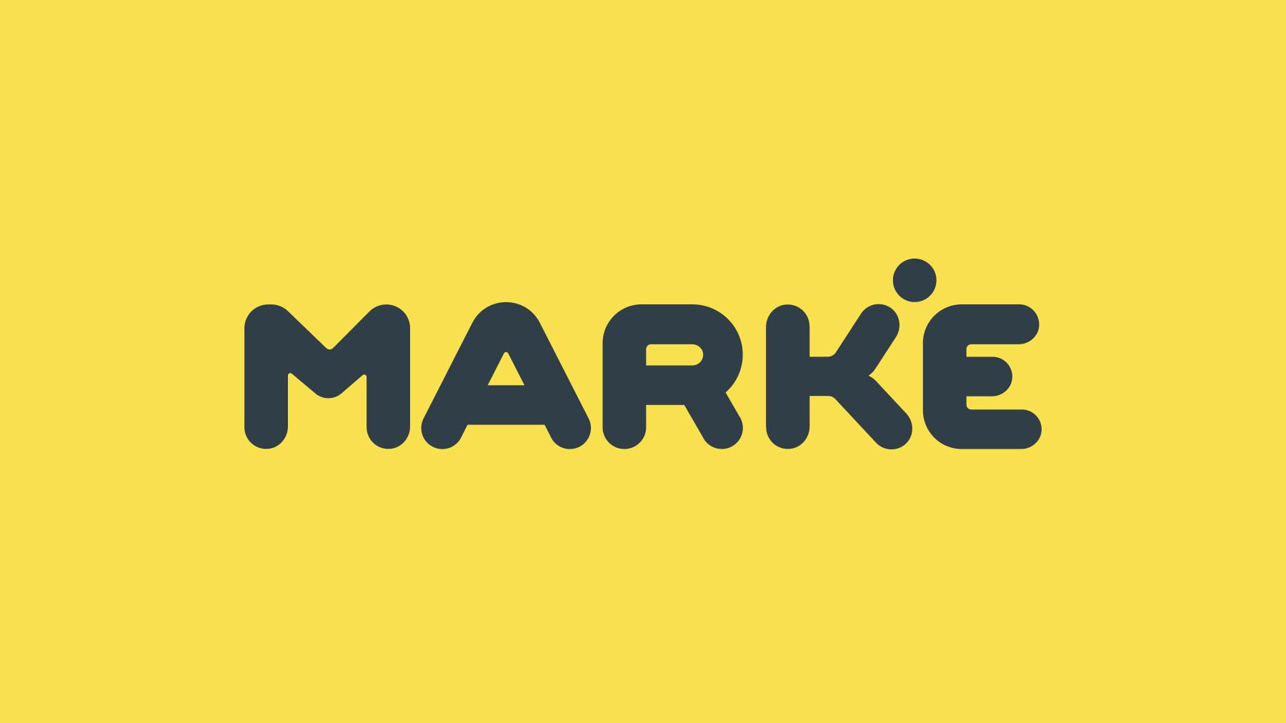 Criação de Logo para Marke, Novo Hamburgo.