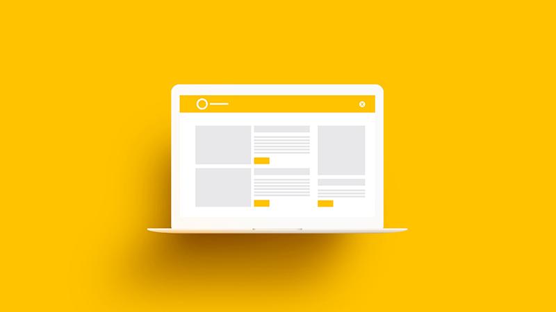 E-commerce com bom logotipo