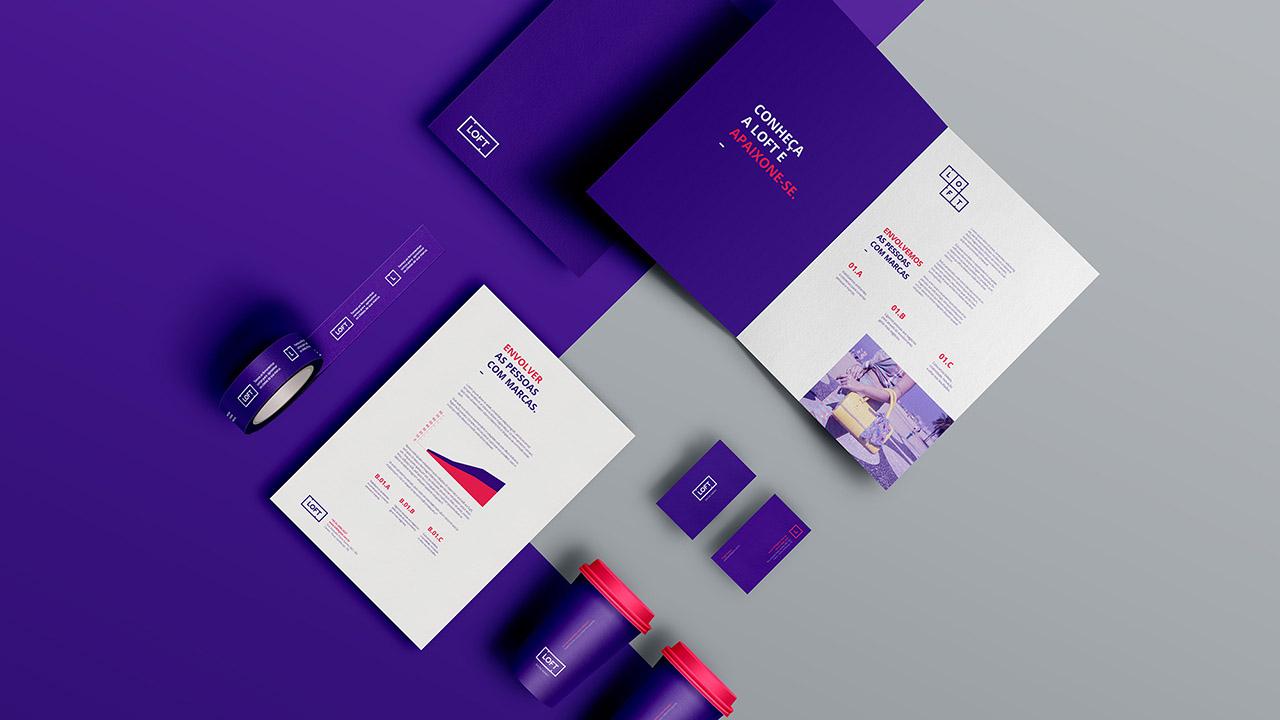 Criação de Identidade visual para Loft Digital Agency de Novo Hamburgo