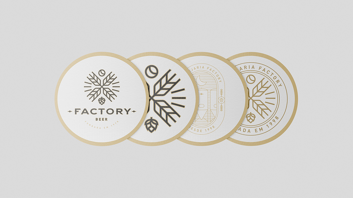 Identidade visual para Factory Beer