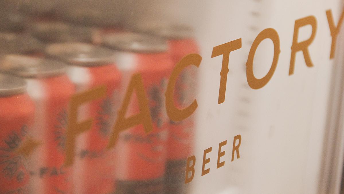 Design de embalagens para Factory Beer