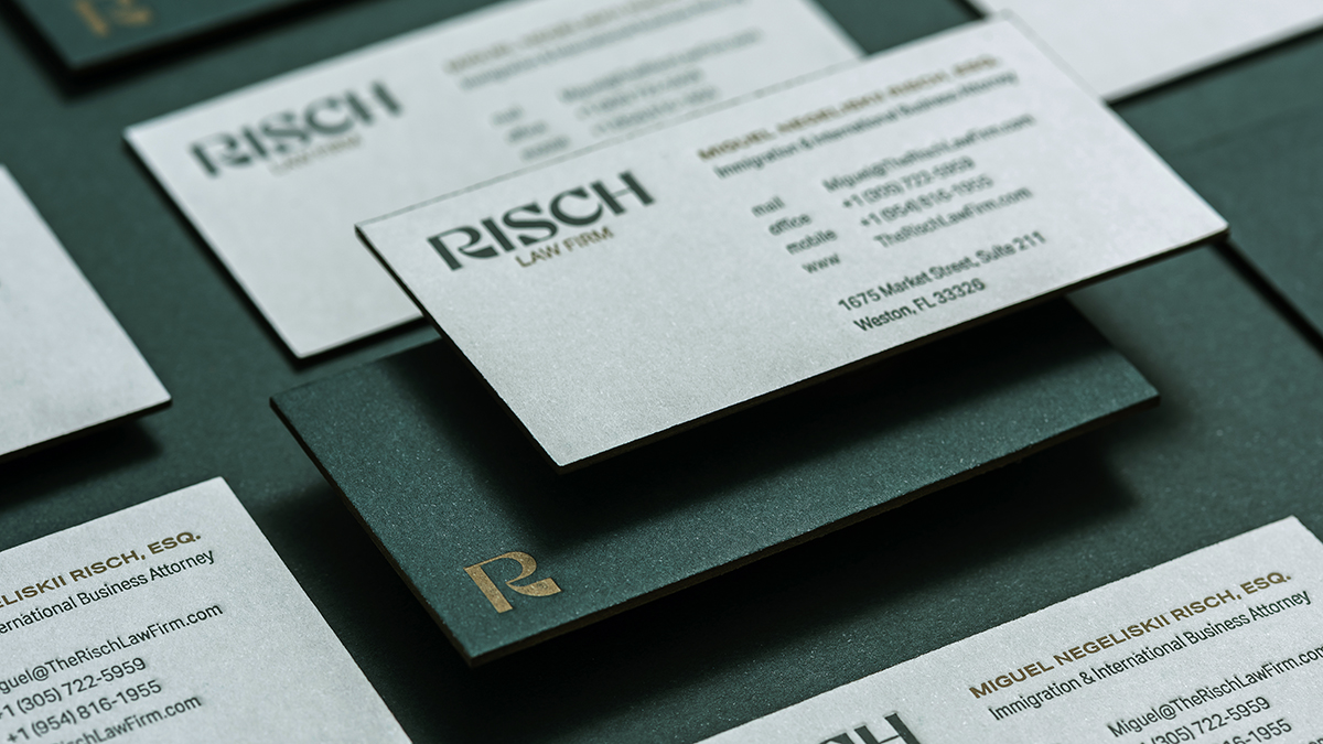 Risch Law Firm - Identidade visual